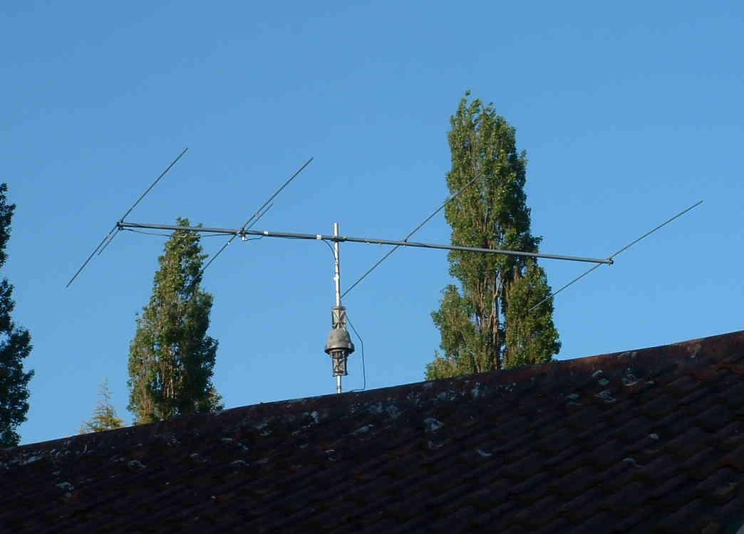 Amateur radio antennas
